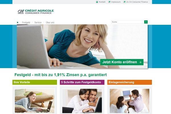 Credit Agricole Consumer Finance Festgeld