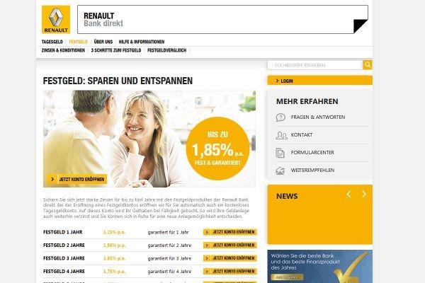 Renault Bank Festgeld