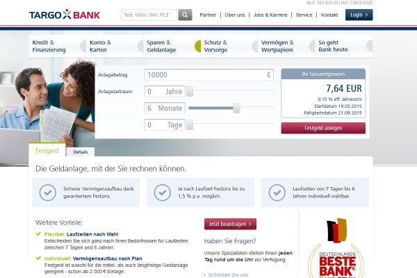 Targobank Festgeld