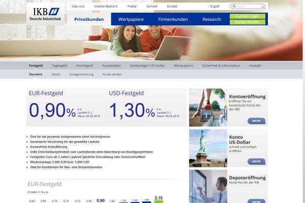 IKB Deutsche Industriebank Festgeld