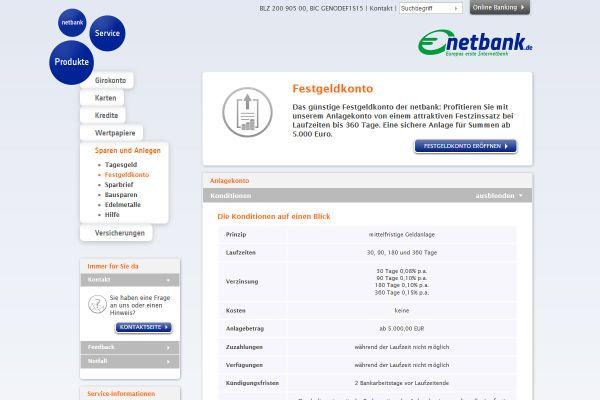 netbank Festgeld