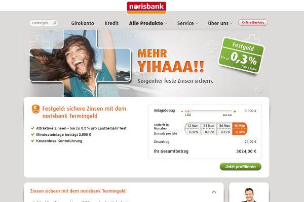 Norisbank Festgeld